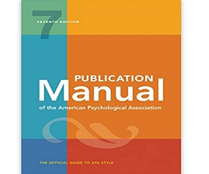 Publication Manual Psychological Association