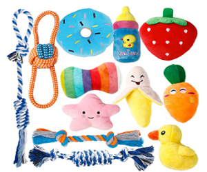 Puppy Toys for Teething Small Dogs