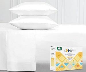 Pure White King Size Sheet 4-Piece Set