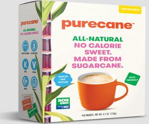 Purecane Sweetener Packet