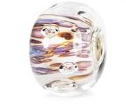 Purple Rippling Bubbles Bead