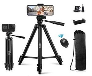 Lightweight Aluminum Tripod Stand for iPhone
