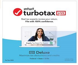 TurboTax LIVE Deluxe 2020