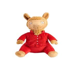 Red Pajama Animal Toy Doll