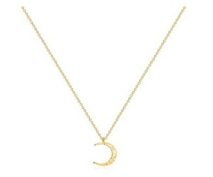 Women Moon Necklace