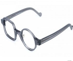 STARK 1-Tony Stark Asymmetrical Glasses One Square & One Round