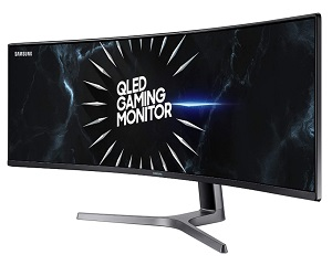 Samsung 49-Inch CRG9 Curved Gaming Monitor