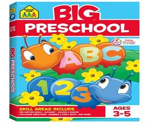 School Zone Big Workbook Series
