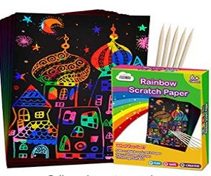 Magic Scratch Paper for Kids