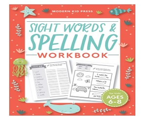 Sight Words and Spelling Workbook for Kids