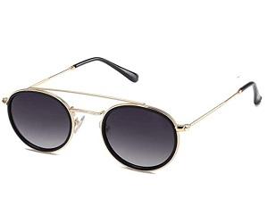 Small Retro Round Polarized Sunglasses