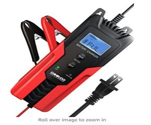 Smart Battery Charger & Maintainer For Car,Motorcycle