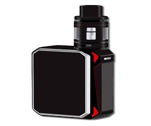 Smoke G-Priv 220W Vape Mod Stickers Skins Cover Solid Black