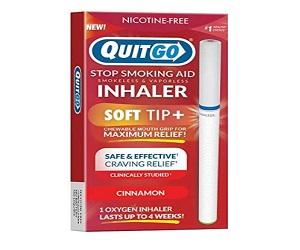 Smoking Aid Oxygen Inhaler Soft Tip Chewable