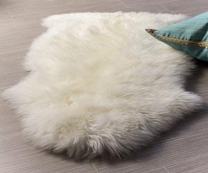 Soft Fur Throw Rug