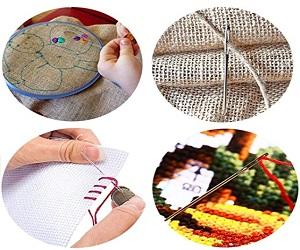 Stainless Steel Yarn Knitting Needles