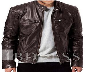Standard PU Leather Jacket