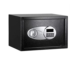 Steel Security Safe With Programmable Electronic Keypad