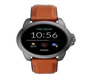 Steel Touchscreen Smartwatch with Speaker,