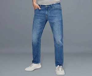 Straight Tube Jeans