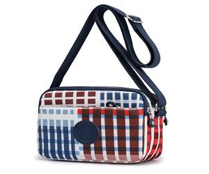 Striped Small crossbody bag