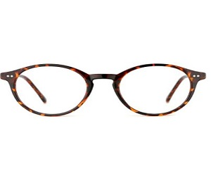 Vintage Thick Round Rim Frame Eyeglasses
