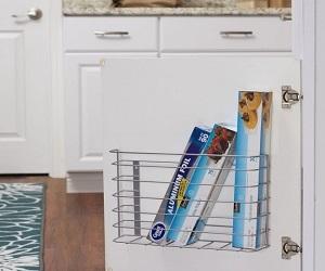 Tall Basket Door Mount Cabinet