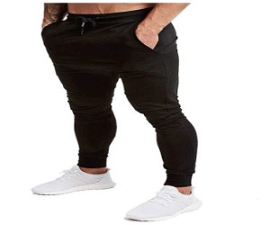 Men's Jogger Tapered Active Pants for Gym + Extra 5% Off