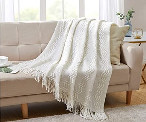 Textured Solid Blanket
