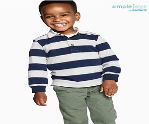 Toddler Boys 2Pack Long Sleeve Rugby Striped Shirts