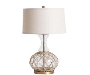 Transparent Glass Table Lamp