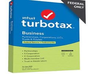 TurboTax Business 2020 Desktop Tax Software