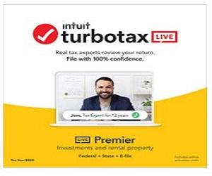 TurboTax LIVE Premier 2020,