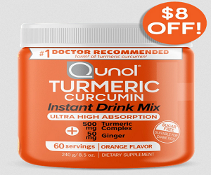 Turmeric Instant Drink Mix 500mg + 50mg Ginger 60 Servings