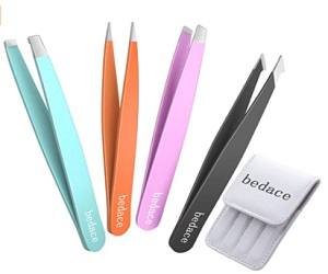Tweezers For Eyebrows  4 Pack