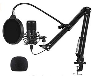 USB Microphone for Computer + Extra 5% Off