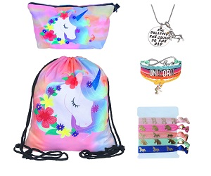 Unicorn Drawstring Backpack Gifts For Girls