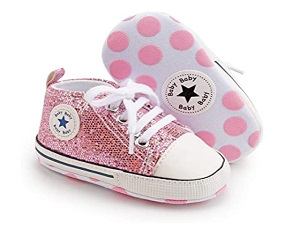 Unisex Baby Girl Canvas Sneaker