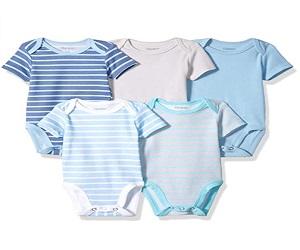 Unisex Baby Ultimate Short Sleeve Bodysuits