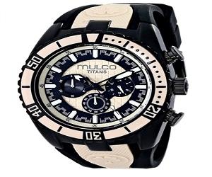 Unisex Titan Wave Quartz Watch