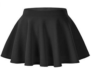 Casual Mini Skater Skirt