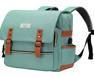 Vintage Laptop Backpack for Women Men