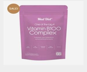 Vitamin B100 Complex 60 Capsules
