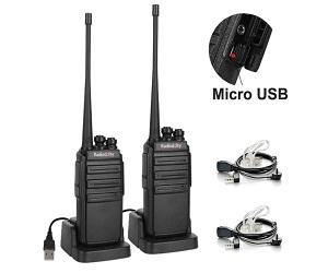 Walkie Talkies With Micro USB