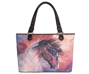 West Horse Canvas Tote Bag