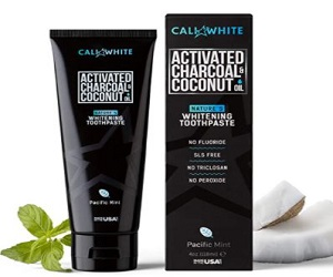 Coconut Oil Teeth Whitening Toothpaste,