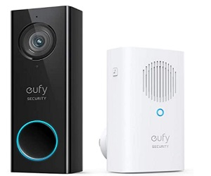 Wi-Fi Video Doorbell, 2K Resolution Video doorbell Camera + Extra $30 Off