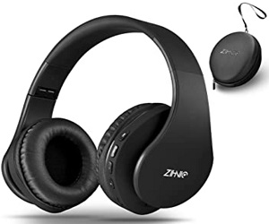 Wireless Bluetooth and Wired Stereo Headset