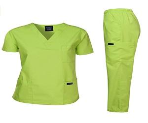 Women and Man Scrubs Medical uniform Set