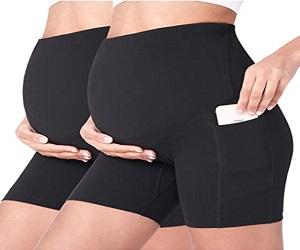Womens Maternity Yoga Shorts